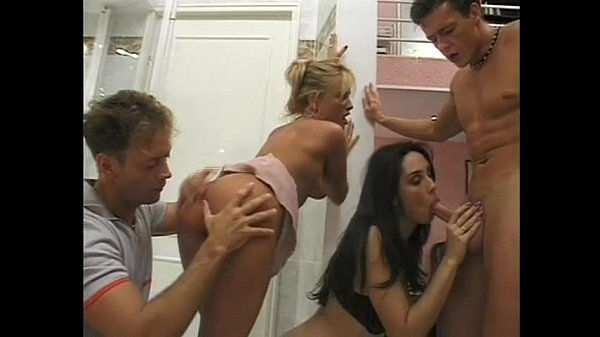 Hot blonde rider ridden by horny cock in a stable