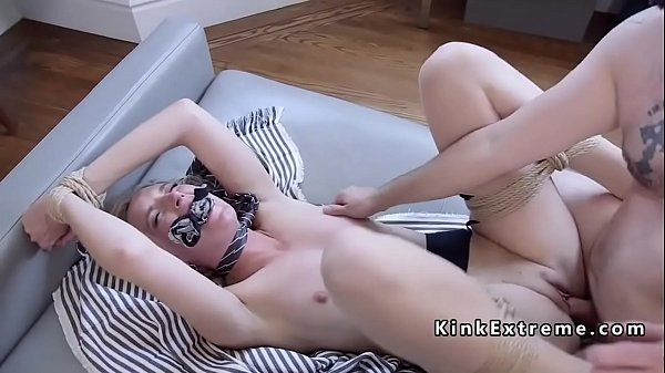Lesbian Girl Gets Tied Up