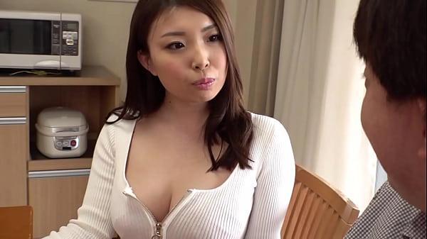 My best friend's beautiful older sister who rubs my dick on her thighs and seduces me, I'm so excited that I spill my pre cum ... Japanese amateur homemade porn. [Part 2
