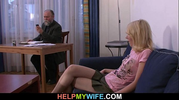 Old man pays him to fuck his young wife Thumb