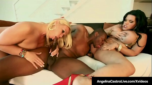 Tube Title: BBW Angelina Castro & Austin Taylor Bang A Big Black Cock!