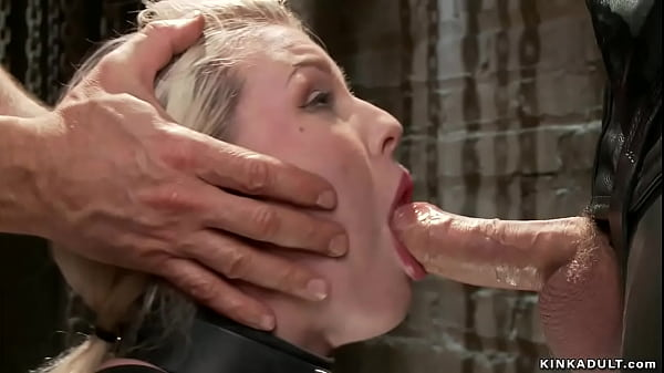 Strapped blonde anal fucking training Thumb