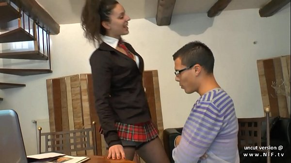 Amateur schoolgirl french arab beurette sodomized by her classmate