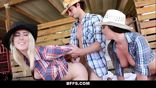 BFFS - Hot Country Girls (Cadence) (Brittany) (Kacey) Share A Cock Thumb