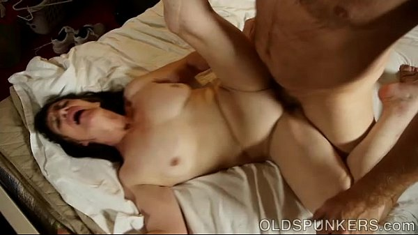 Horny old spunker enjoys a hot fucking and a st...