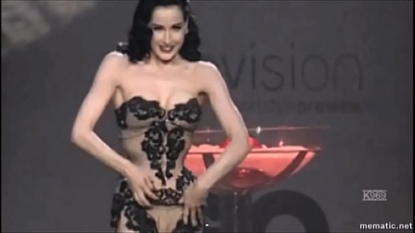 DITA VON TEESE MUSIC VIDEO