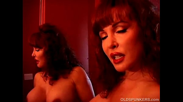 Lovely mature latina in sexy lingerie plays with her juicy pussy for you