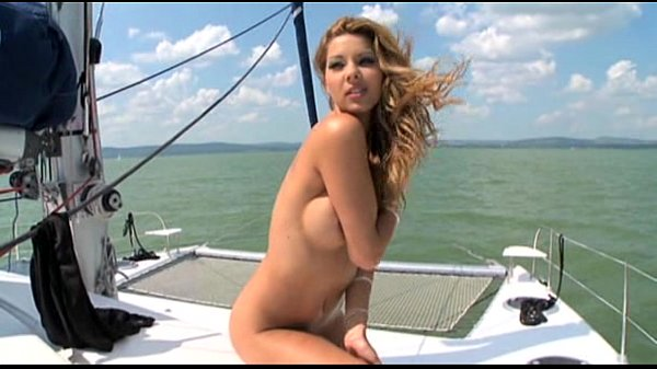 Cindy Hope Big Cock Cravings on a yacht
