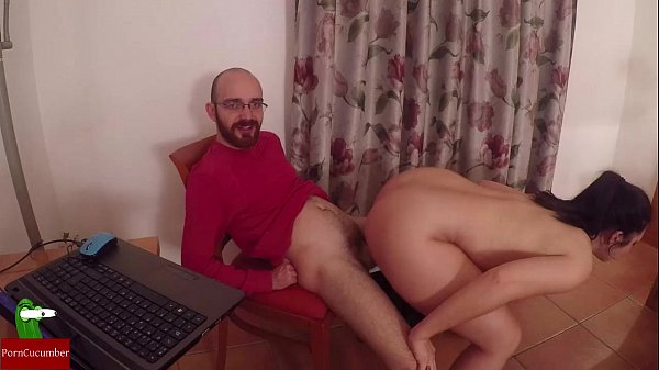 Mobile, masturbation, cock food, penetration and milk on the tits