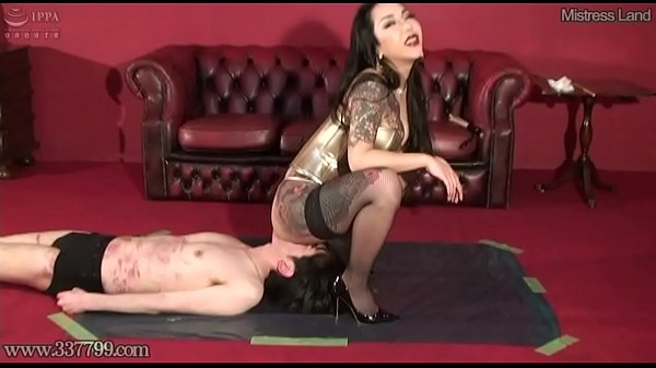 b. Facesitting and Licking Pussy with Japanese Mistress