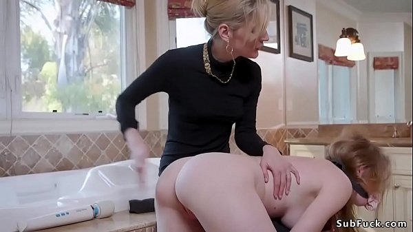 Stepsisters in anal bdsm threesome