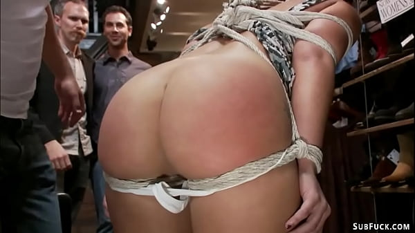 Slut ass hooked and fucked in public