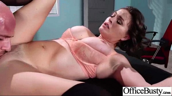 Hard Sex Tape In Office With Big Tits Slut Horr...