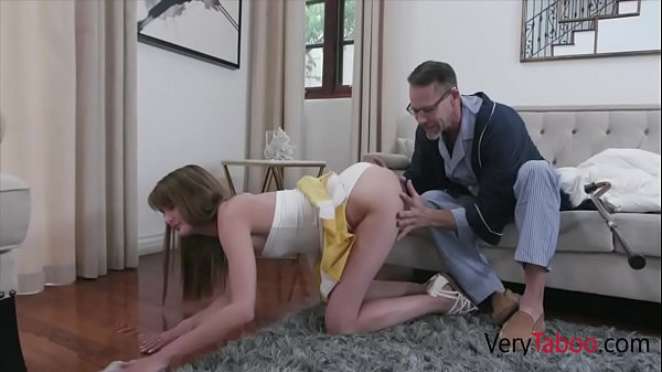 Old Pervy Grand-Dad Fucks His Only Grand Daught...