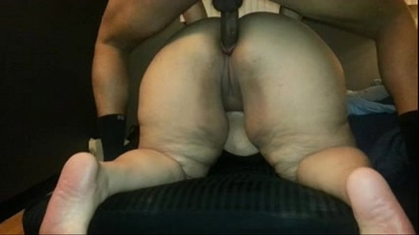 Nasty ass bbw fat asshole cum