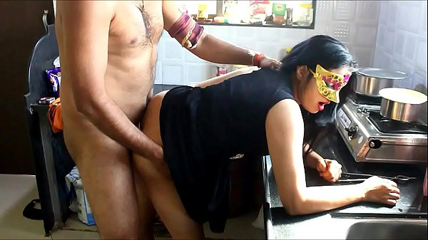 Beautiful Indian Wife Fucked Hard In The Kitchen