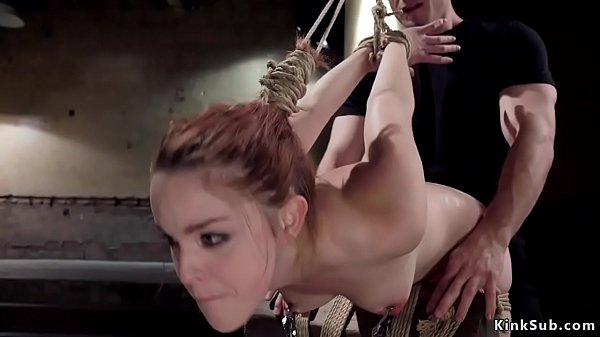 Bound redhead gets pussy banged group Thumb