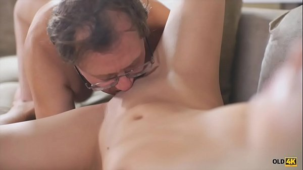 OLD4K. Dad and young girl have sex scene that they will not forget