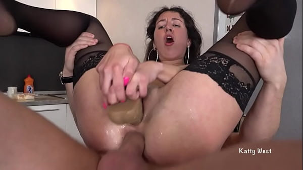 Rough hard Double Penetration in all holes Thumb