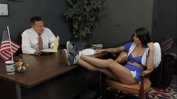 Asian Cheerleader Takes Over the School - Brenna Sparks Femdom