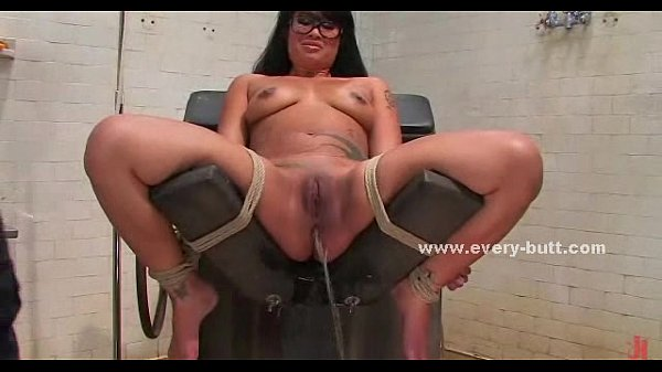 Asian girl gets fucked with a toy
