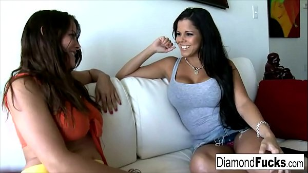 Diamond And Heather Silk Get Together For Some Hot Girl On Girl Action Thumb