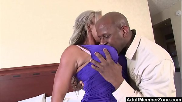 AdultMemberZone - Big Titted Milf craves huge black cock Thumb