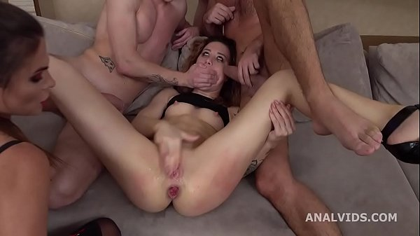 Monika Wild gets submitted with Balls Deep DAP, Gapes, Domination, Squirt and Swallow GL330 Thumb