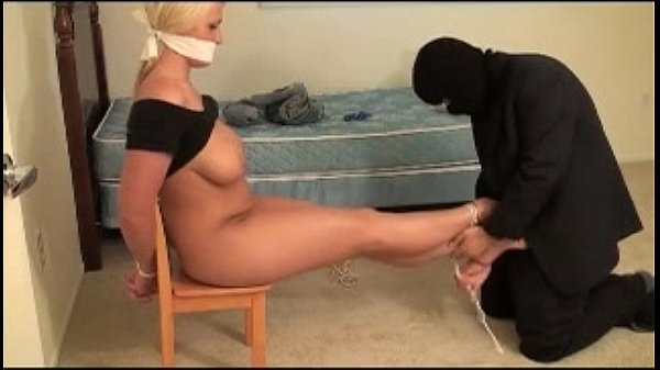 Sadie, bound and gagged by rider Thumb