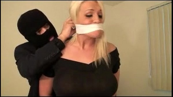 Sadie, bound and gagged by rider