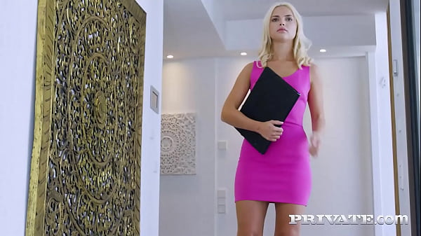 Private.com - Blonde Cock Sucking Teen Lika Star Dicked By The Pool!