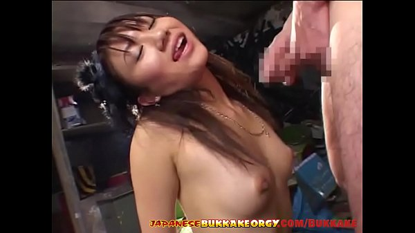 Classy Japanese babe gets covered with cum - Ja...