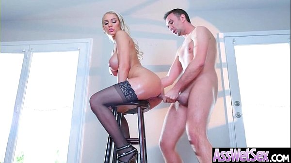 (Kenzie Taylor) Superb Oiled Girl With Round Big Ass Get Analy Nailed clip-17
