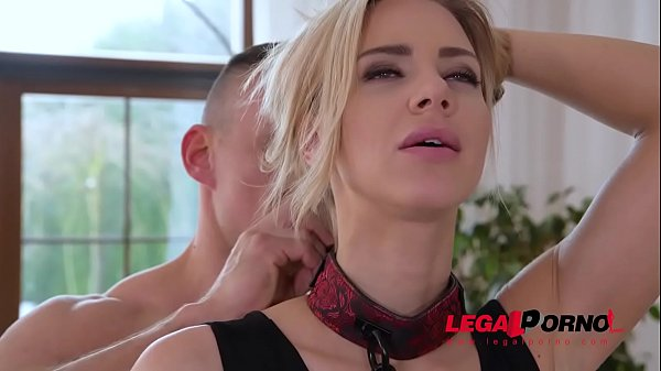 Extremely hot glamour blondie Nathaly Cherie dominated & fucked in the ass GP684