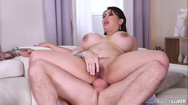 Busty Asian babe Tigerr Benson in hardcore doub...