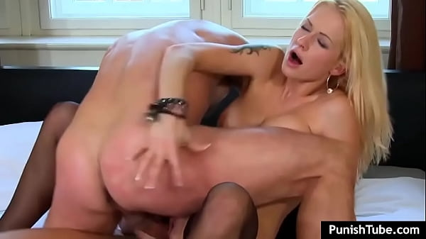 Blonde Cuttie Stacy Silver Fucks Two Guys On Wh...