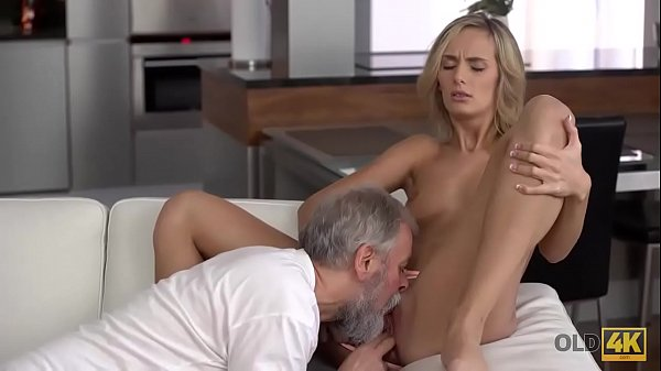 OLD4K. Young wife enjoys pleasurable morning with old husband Thumb