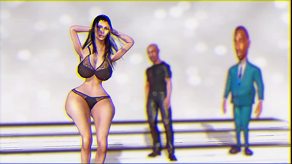 Kim Kardashian Makes A Sexy Dance For Kanye West And Zeliwipin