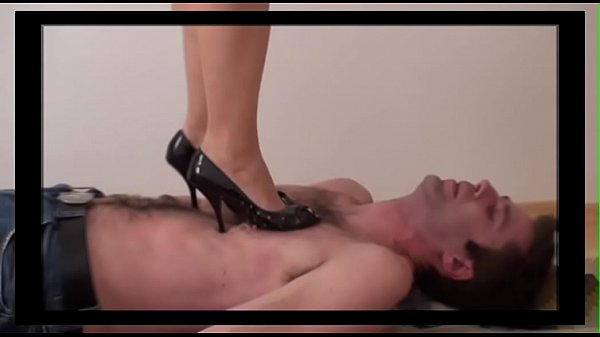 Femdom Ladies tramples slaves with shoes Thumb