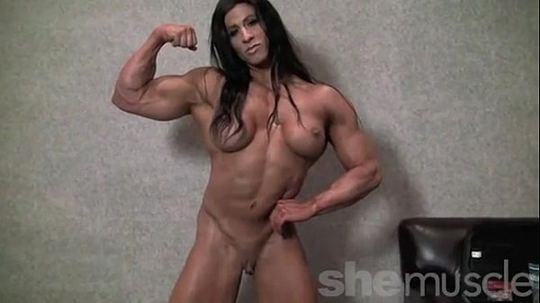Latina female muscle blowjob like fuck