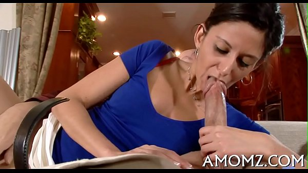 Licking and fucking sexy mom