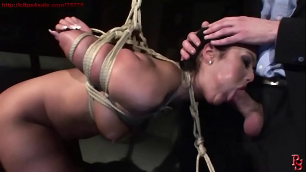 Tied Sex bomb Angelica Heart, dominated and fucked.BDSM bondage sex movie.