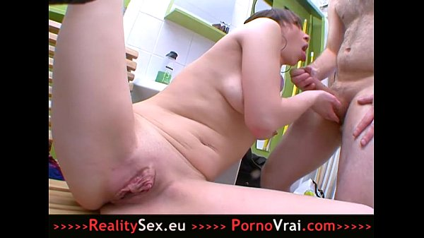 French huge clit wet open pussy