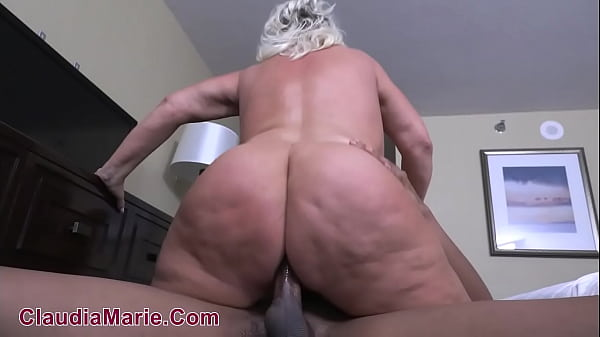 Cellulite Covered Fat White Ass Fucked Anal By Black Bull Thumb