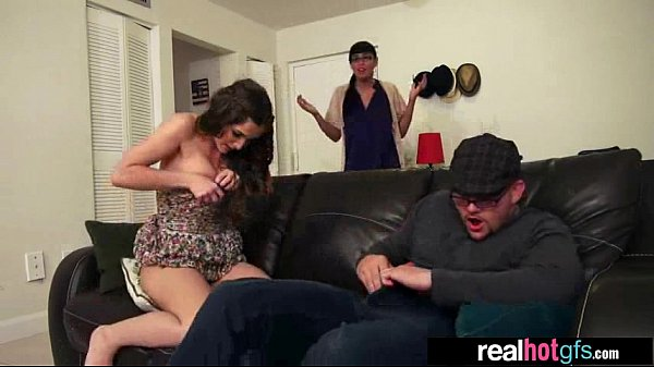 Real GF In Front Of Camera Show Her Tricks (mol...