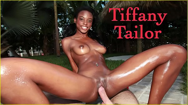 BANGBROS - Skinny Black Model Tiffany Tailor Ge...