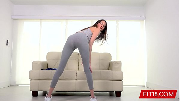FIT18 - Natalia Nix - Tall Skinny Brunette Teen...
