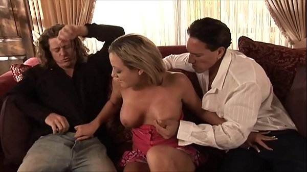 Hot Big Ass Housewife Rides 2 Big Dicks & Take Huge Cumshot Facials on Face