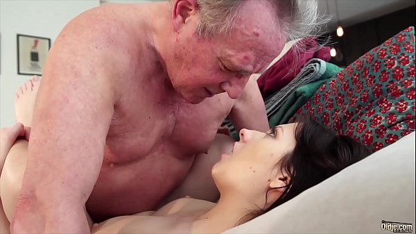 Old man Warming up my young pussy and cums in my mouth I swallow it Thumb