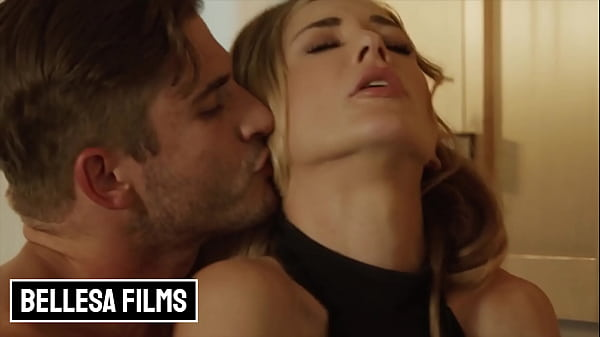 Horny Blonde Babe (Aiden Ashley) Seduces A Top Notch Chef (Nathan Bronson) To Cater Her - Bellesa